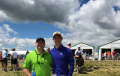 Scott and Jacob Schaller @ 2017 US Open - Erin Hills