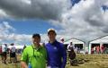 Scott and Jacob Schaller @ 2017 US Open - Erin Hills